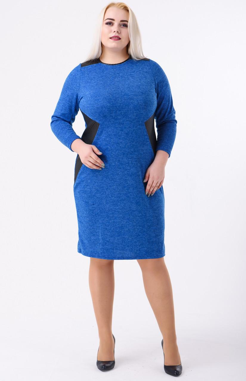 dc88ce2ad7a Платье Из Ангоры Теплое Женское Трикотажное Большого Размера — в ...