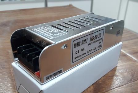 Блок питания удлиненный 12V-60W-5А серия MS