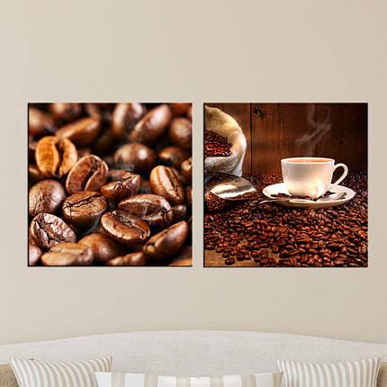 """Модульная картина """"Кофе"""", фото 2"""