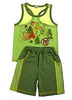 Комплект майка и шорты для мальчиков 3-6 лет