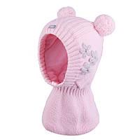 Шапка-шлем для девочки  TuTu 110 арт. 3-004181 (44-48,48-52), фото 1