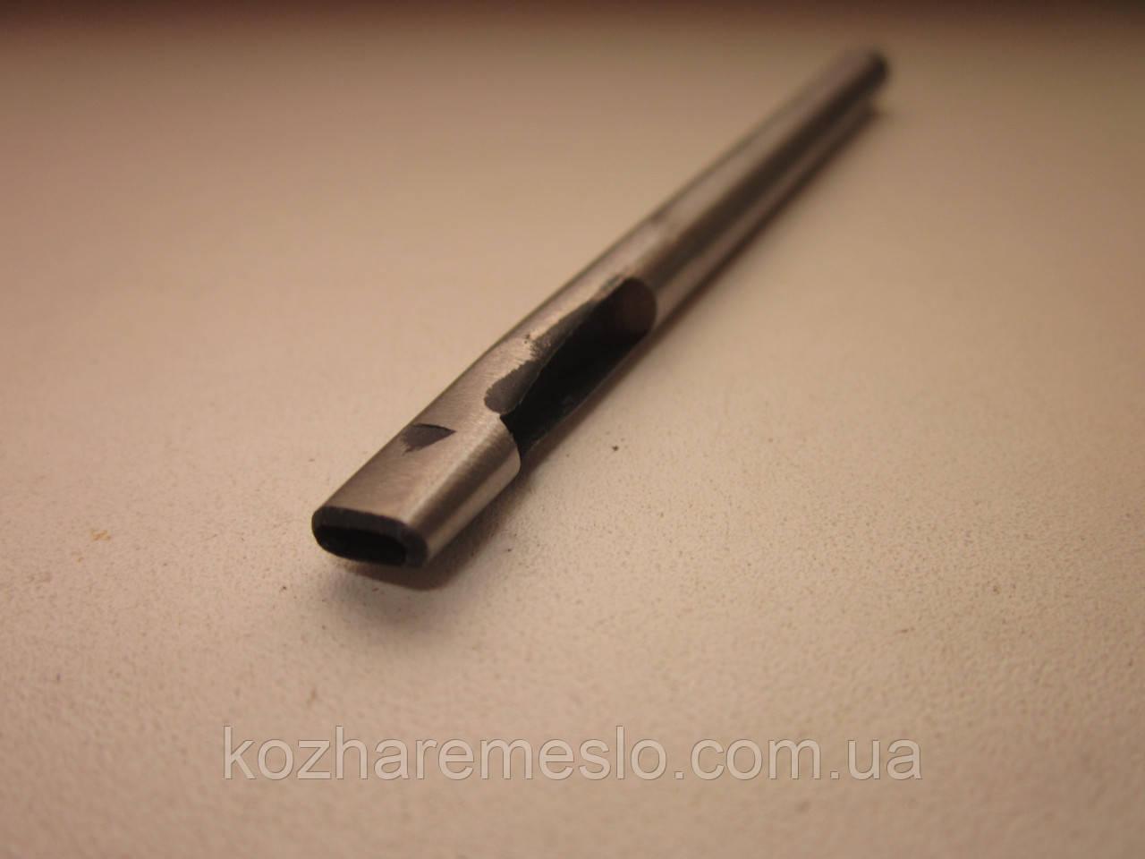 Просечка - пробойник для кожи овальный 5 х 2 мм