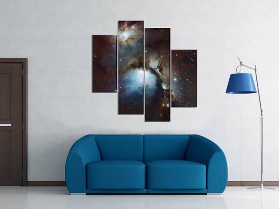 """Модульная картина """"Вселенная"""", фото 2"""