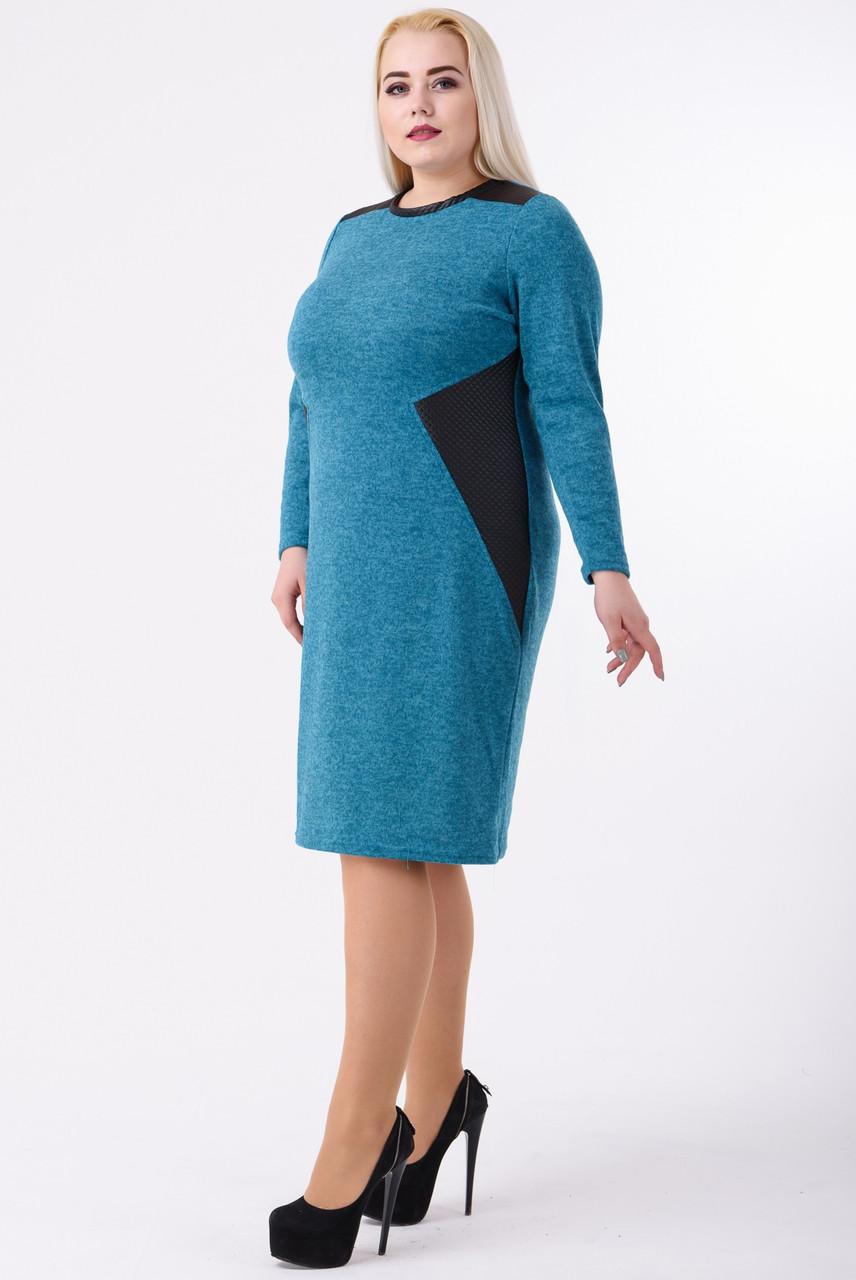 69e9ca916e5 Платье Из Ангоры Теплое Женское Трикотажное Большого Размера 62 — в ...