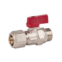 SD FORTE Кран шар. для М/П труб 1/2н х 20   SF262W2015