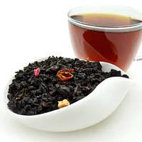 Улун ли чжи (личи), вкусный чай со вкусом экзотического фрукта, обладает согревающим эффектом, пакет 100г