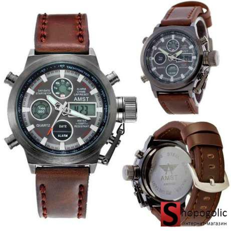 AMST 3003 Мужские Армейские Наручные Часы