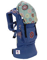 Ерго рюкзак Ergo Baby Carrier Blue  Embroidery ., фото 1