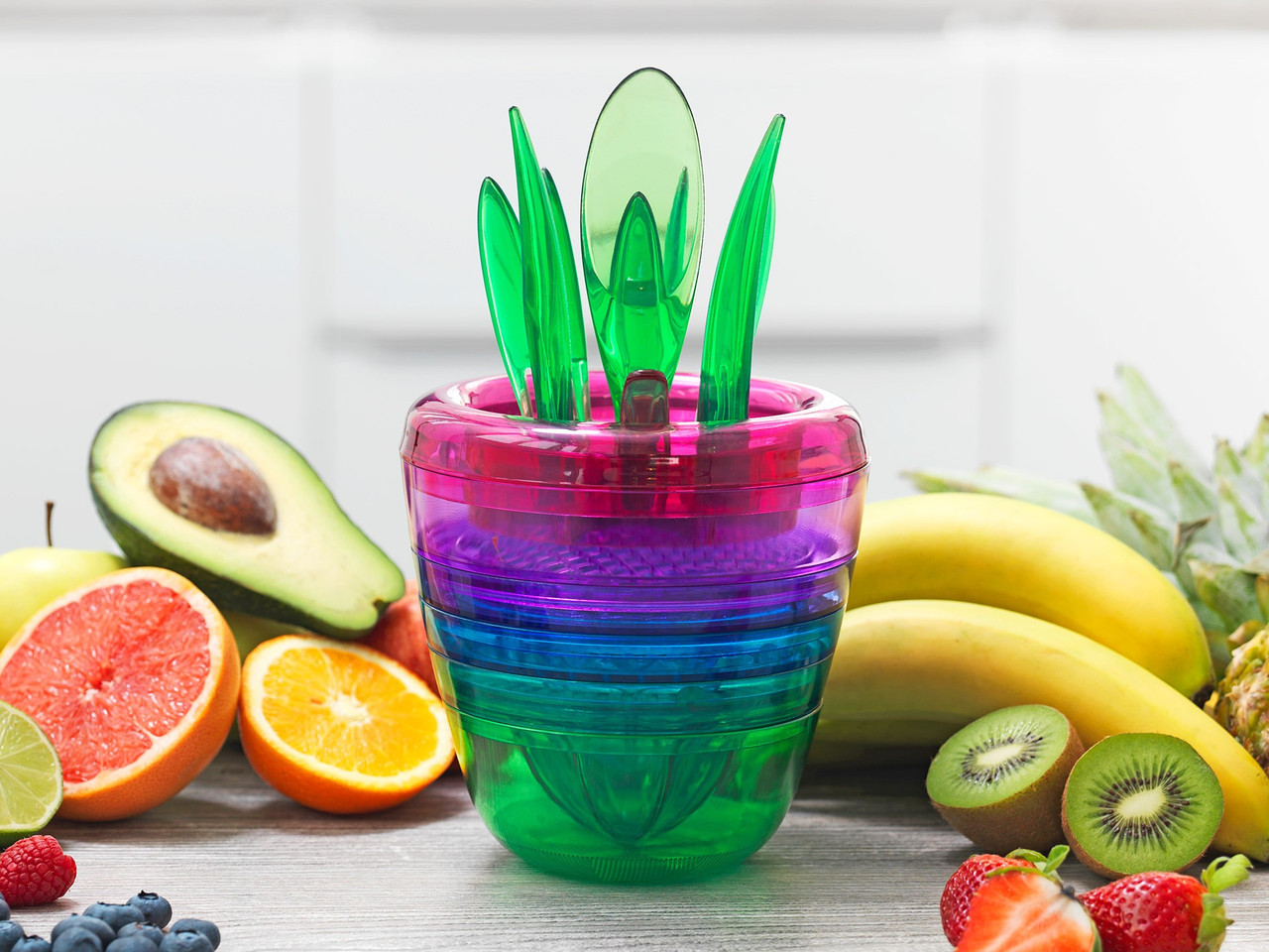 Брава устройство для нарезки фруктов Delimano Fruit Factory
