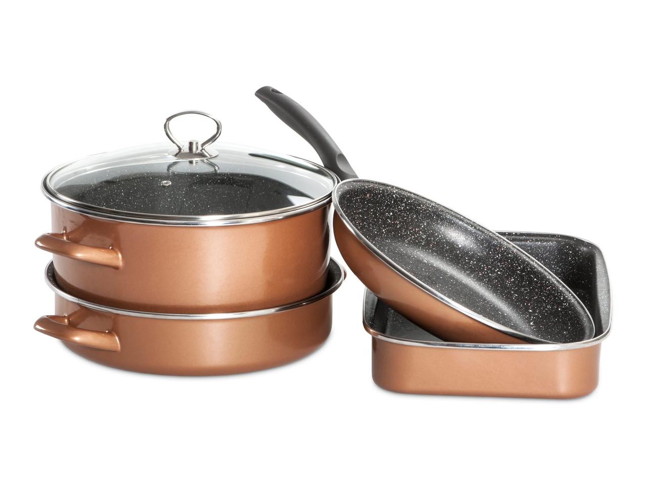 Набор посуды Grande Delimano CopperLUX