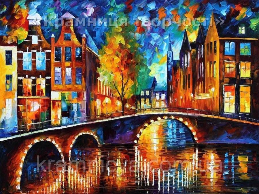 """Раскраска по номерам """"Сказочный Амстердам"""", VS017, 40х50см."""