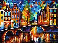 """Раскраска по номерам """"Сказочный Амстердам"""", VS017, 40х50см., фото 1"""
