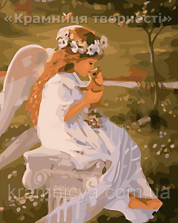 "Картина по номерам ""Поцелуй ангела"", VS037, 40х50см."