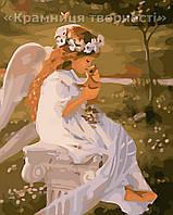"""Картина по номерам """"Поцелуй ангела"""", VS037, 40х50см., фото 1"""