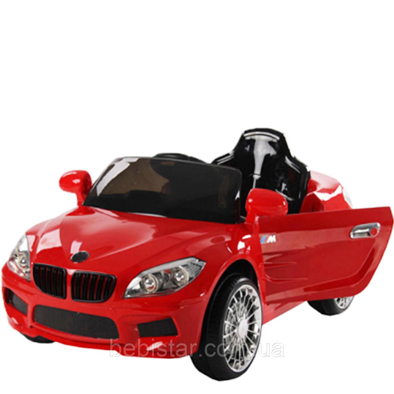 Електромобіль червоний T-764 RED для дітей 3-8 років з пультом мотор 1*20W акумулятор 6V4.5AH