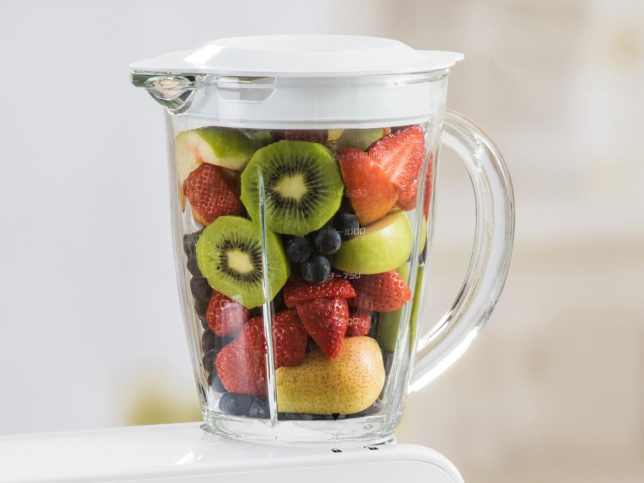 Стеклянная чаша блендера 1,5 л - дополнительный аксессуар для кухонного процессора Делюкс Delimano