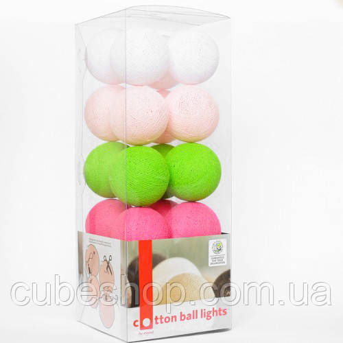 """Тайская LED-гирлянда """"Early Spring"""" (35 шариков)"""