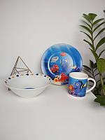 Подарочный набор детской керамической посуды Немо