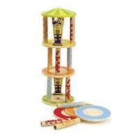 """Деревянная игрушка головоломка балансир из бамбука HAPE """"Crazy Tower"""""""