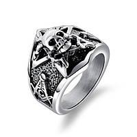 Мужское кольцо печатка из стали 18, 19, 20, 20.5, 21.5, фото 1
