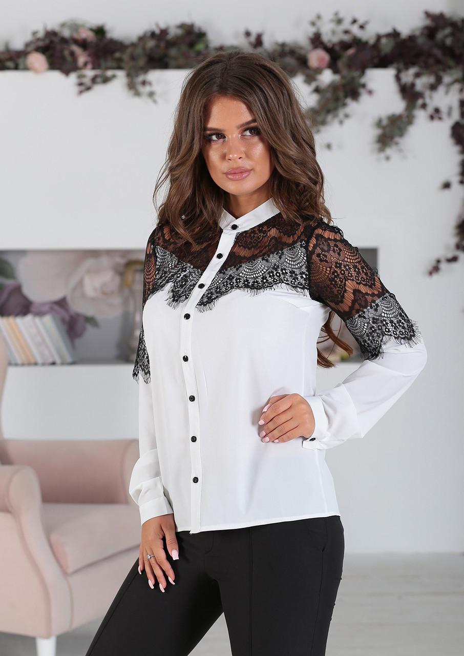 Белая Рубашка Сабрина