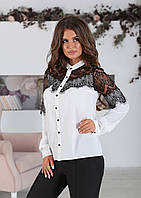 Белая Рубашка Сабрина, фото 1
