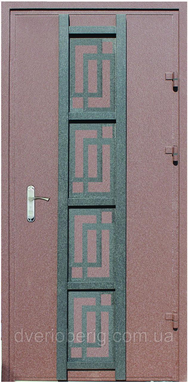 Входная дверь модель Метал/Мдф  Д-7