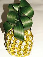 Сладкий ананас из конфет