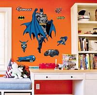 """Виниловая наклейка """"Бэтмен"""" - 60*90см"""