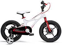 """Детский велосипед RoyalBaby 18"""" Space Shuttle, Official UA, белый"""