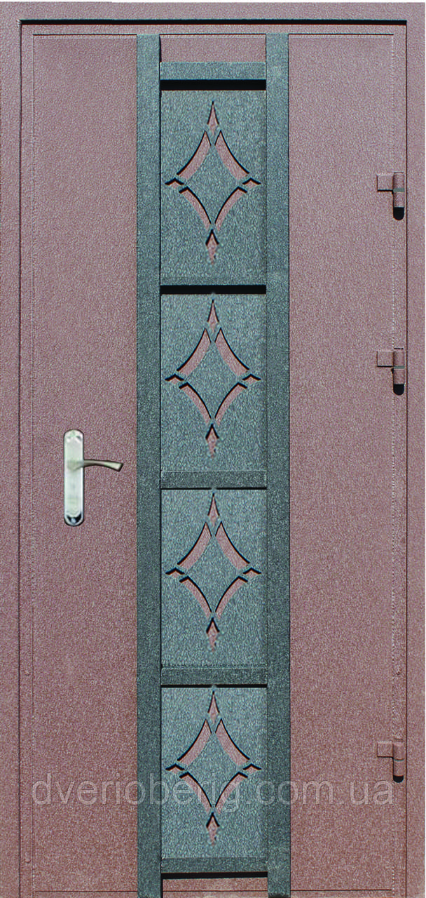 Входная дверь модель Метал/Мдф  Декор 8