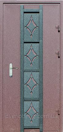 Входная дверь модель Метал/Мдф  Декор 8, фото 2