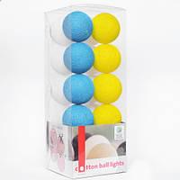 """Тайская LED-гирлянда """"National"""" (35 шариков)"""