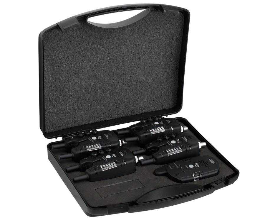Набор элетронных сигнализаторов поклевки Carp Pro Q5 4+1