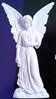 Накладка на памятник из мрамора Ангел №7