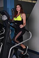 Спортивная майка Totalfit M-12 XXL Желтый, фото 1