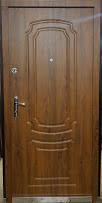 Входная дверь модель Метал/Мдф  Д-1 ПАТИНА КОВКА, фото 2