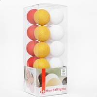 """Тайская LED-гирлянда """"Christmas"""" (35 шариков)"""