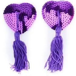 Стикини с кисточкой фиолетовые