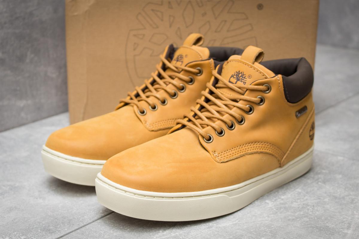 Зимние мужские ботинки 30111, Timberland Groveton, рыжие ( нет в наличии  )