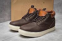Зимние мужские ботинки 30113, Timberland Groveton, коричневые ( 46  ), фото 1