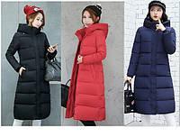 Женское зимнее пальто пуховик парка с капюшоном.., фото 1