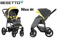 Детская прогулочная коляска Bebetto Nico 01