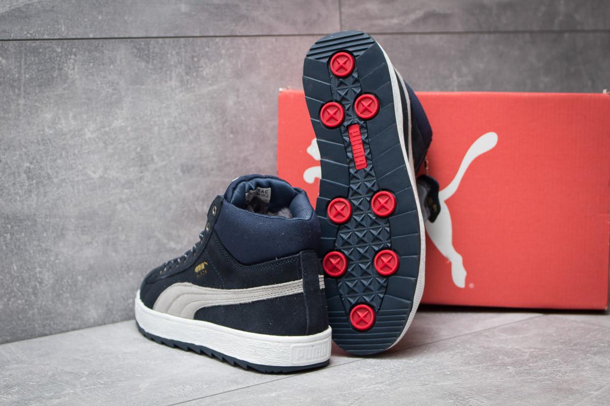 9c07876d8172 ... Зимние кроссовки Puma Suede, темно-синий (30161),   44 (последняя ...