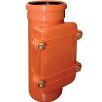 Ревизия для наружной канализации ПВХ  Ostendorf KG д.110