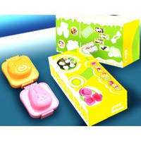 Формочки для вареных яиц или желе (комплект 2шт)