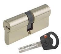MUL-T-LOCK Цилиндр CLASSIC 82 (55x27)NI Кл-кл Ник