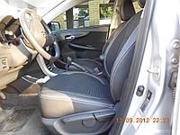 Автомобильные чехлы Toyota Corolla 2007 ткань