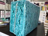 Плед велюровый Aksu 220x240см бирюзовый
