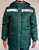 """Куртка """"Эксперт"""" зеленая, фото 1"""